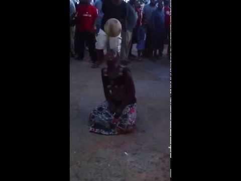 Astonishing Football FreeStyle By A Tanzanian Woman