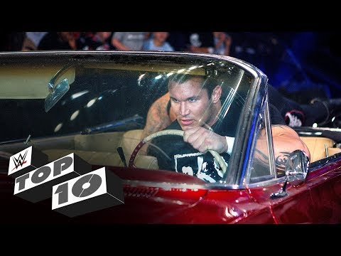 Crushing car crashes: WWE Top 10, Oct. 9, 2019