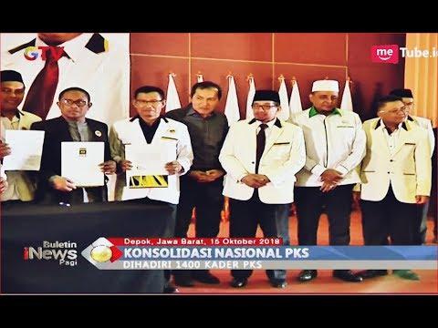 Gelar Konsolidasi Nasional, PKS Targetkan 70 Kursi Lebih di DPR RI - BIP 15/10