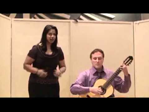 Songs from the Chinese by Benjamin Britten performed by the Dearing Duo