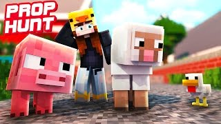 HETTY WIRD GETROLLT! | Minecraft Prop Hunt