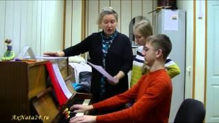 Урок вокала. Ф.Абт  вокализ № 3, поём с листа (часть 1-я).