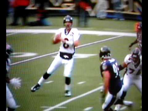 Ed Reed Baltimore Raven hard hit on denver Gotcha ...