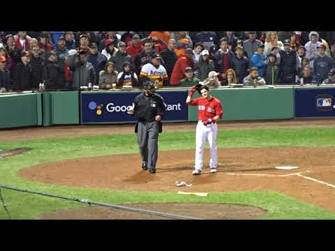 9d355a5fa Andrew Benintendi gets mad - YouTube