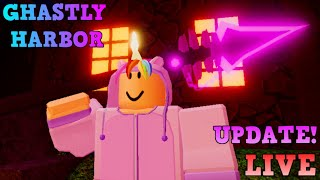 🔴[LIVE] UPDATE DUNGEON QUEST [🗡️Ghastly Harbor!🗡️] ROBLOX 🔴