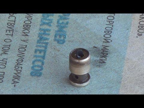 ремонт карбюратора бензопилы, клапан форсунка