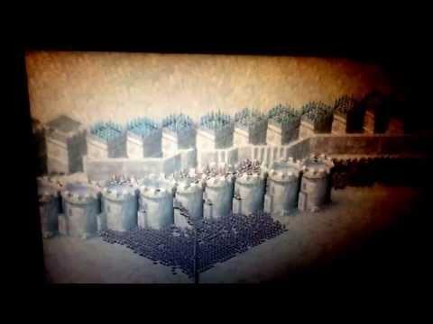 Stronghold crusader 1000 Arabian Bows vs 1000 Archers