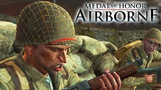 Medal of Honor: Airborne Gameplay PC - Paratrooper in Italy