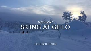 Skiing at Geilo Norway