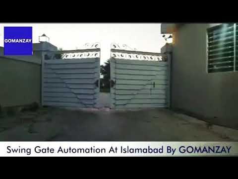Automatic Gate At Islamabad - GOMANZAY