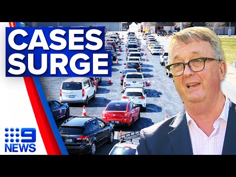 Melbourne staring into months of lockdown   Coronavirus   9 News Australia