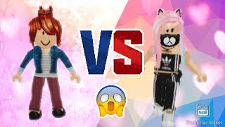 BACON HAIR VS PERSON MIT ROBUX | ROBLOX | *WATCH TILL THE END FOR A SUPRISE*