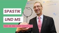 Prof. Horst Wiethölter, Spastik und MS