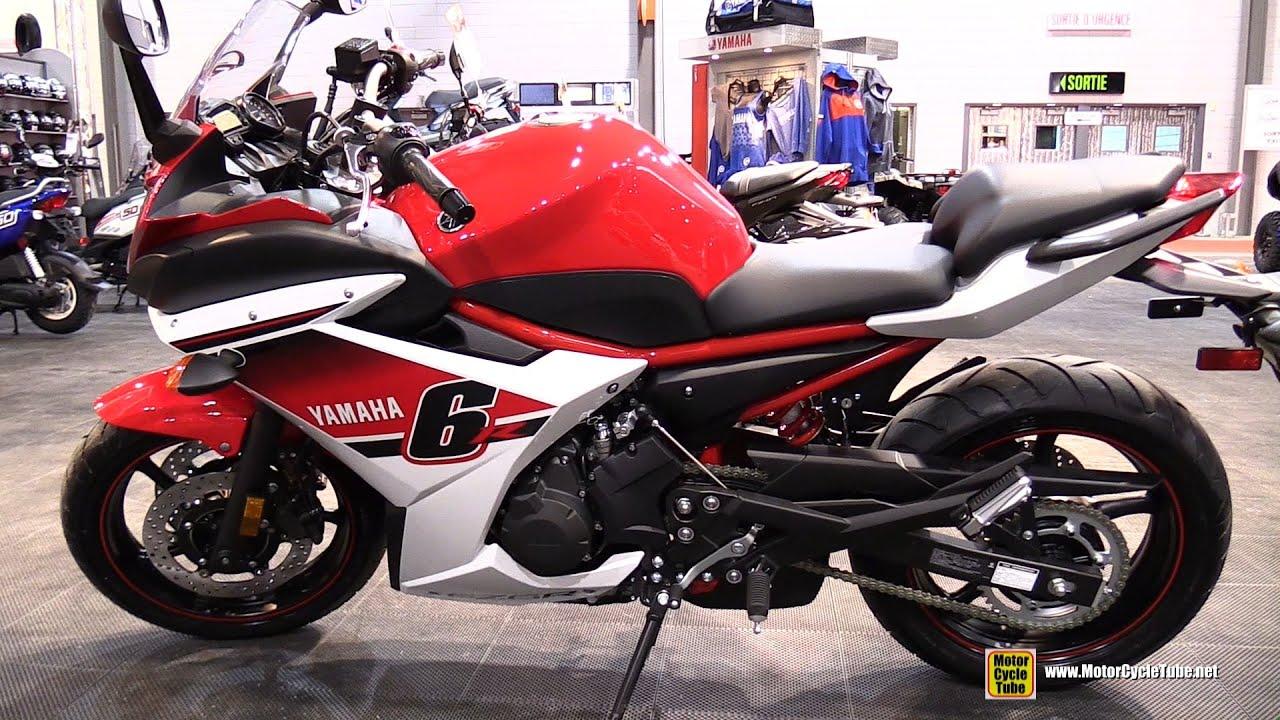 Bien-aimé 2015 Yamaha FZ6R - Walkaround - 2015 Salon Moto de Quebec - YouTube VE41