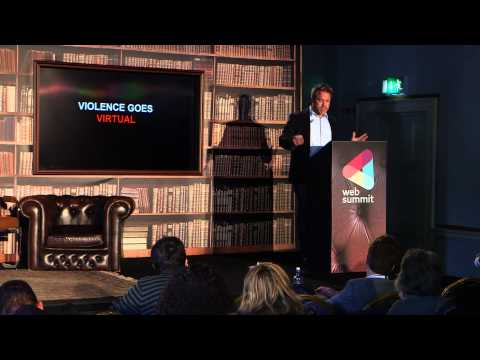 Web Summit 2014, Day 2. Library Stage. Robert Muggah, Research Director at Igarape Institute