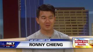 """Ronny Chieng on """"Good Day Austin""""   9/2016"""