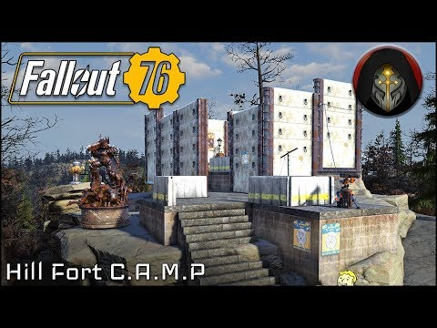 Fortified Camp Fallout 76 Camp Building Guide Youtube