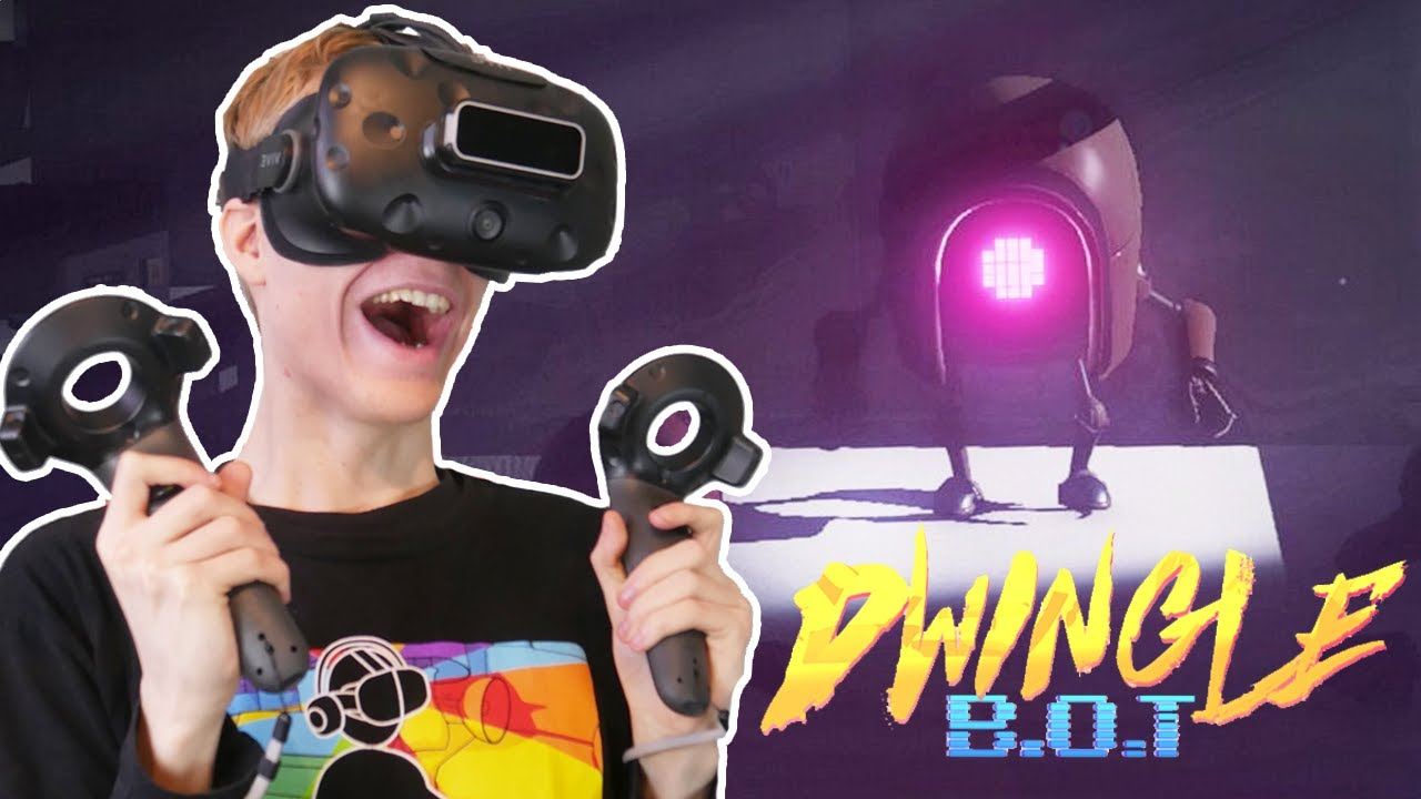 SCARIEST VR ESCAPE ROOM EVER! | Dwingle: B O T (HTC Vive Gameplay)
