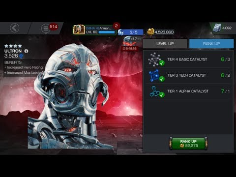 RANK 4 FOUR STAR ULTRON! (Marvel Contest Of Champions)