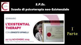 L'EXISTENTIAL THERAPY. Seminario SPEs/ISUE con Ernesto Spinelli