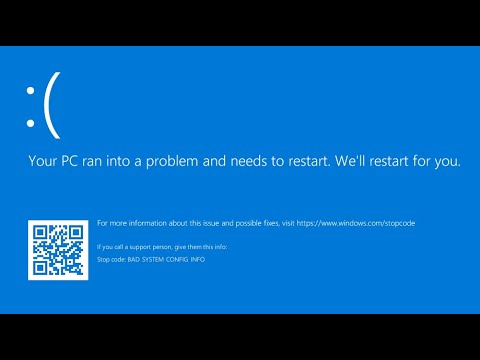 fix-blue-screen-error-your-pc-ran-into-a-problem-and-needs-to-restart-windows-10-all-stop-codes-100%