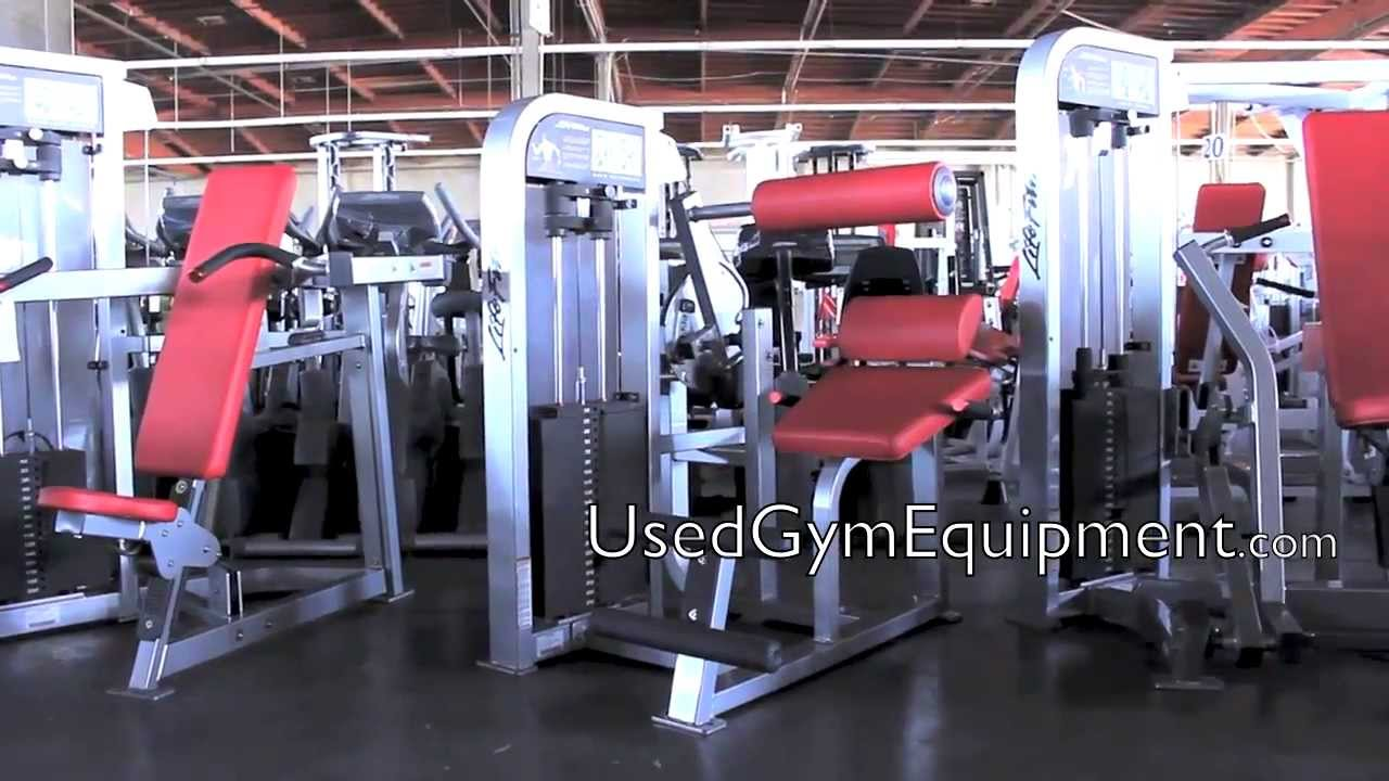 How To Buy Used Life Fitness Pro 2 Back Extension Circuit Machines
