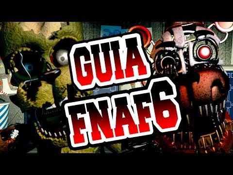 GUIA FNAF 6 | Como pasar la noche 1 , 2 y 3 | Freddy Fazbear's Pizzeria simulator | Español