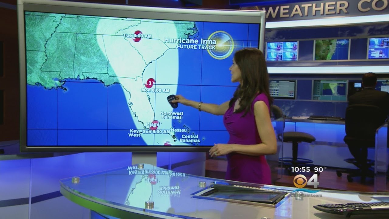 11am Update Hurricane Irma Cone Shows Potential Direct