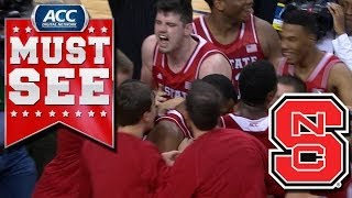 Crazy Finish To NC State vs Syracuse Game At ACC Tournament | ACC Must See Moment