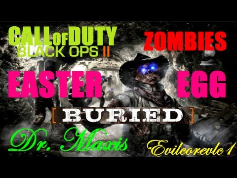 Cod Black Ops 2 Zombies - Easter Egg |BURIED |Dr. Maxis (Paso 5) Montar Horca Y Localizacion Piezas