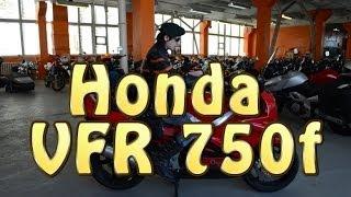 докатились! Обзор Honda VFR 750f. Все гениальное- просто!