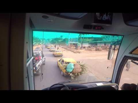 Touristique Arrivee a Yaounde : Mvan, Nsam, Post Centrale, Eli-Essono