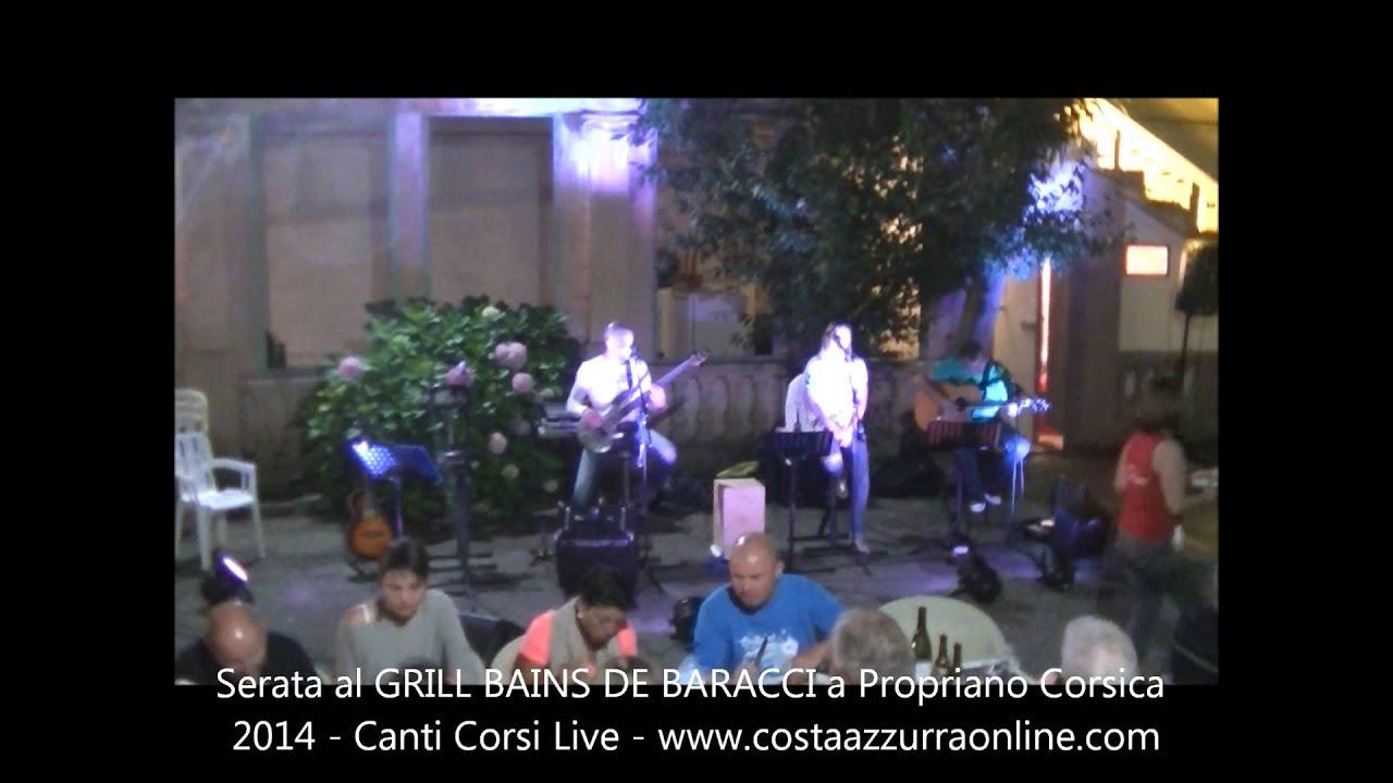 Ristorante Grill I BAGNI Bains de Baracci  Olmeto Corsica 2014  YouTube