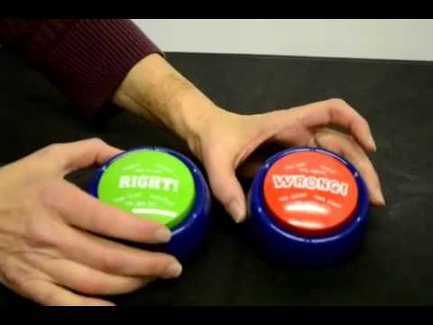 Right & Wrong Sound Buzzers