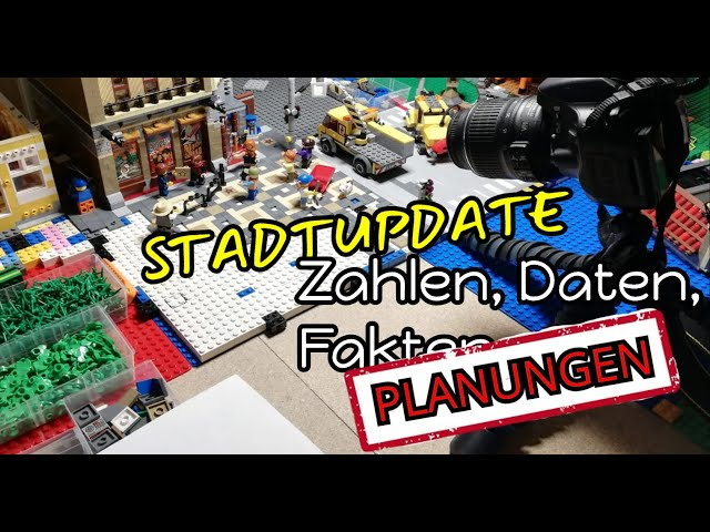 STADTUPDATE | Let's build a City #06 | Zahlen, Daten, Fa .... Planungen