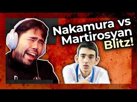 Blitz Destruction! Hikaru Nakamura vs 2016 World Youth Chess Champion Haik M. Martirosyan   Part 1/2