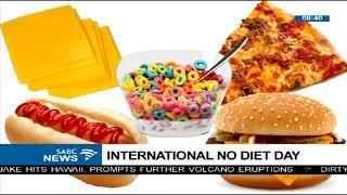 INTERNATIONAL NO DIET DAY with dietician, Ntsako Mathy