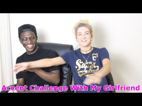 Thumbnail: Accent Challenge With My Girlfriend