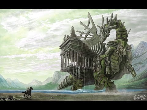 Shadow of the Colossus (PS3 HD) - 4th Colossus (Phaedra) on Hard Walkthrough [60 FPS Gameplay]