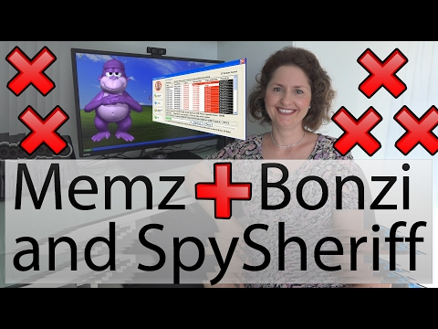 Mum Destroys XP with MEMZ, Bonzi Buddy and SpySheriff - OSFirstTimer Advanced #11