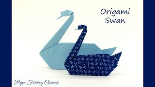 Origami Swan, Łabędź, Cisne