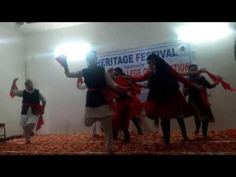 Unique cultural show at Bhartiya College Udhampur(6)