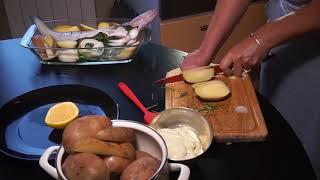 Судак с картошкой запеченный в духовке