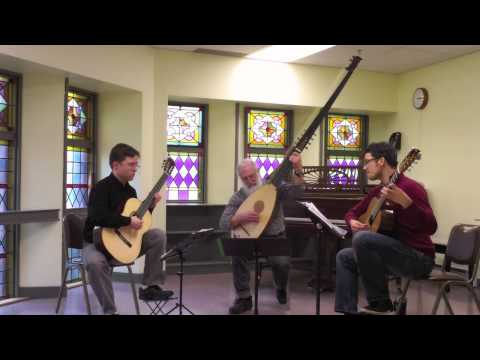 Vivaldi on Theorbo & Two Guitars by VCM Guitar Faculty
