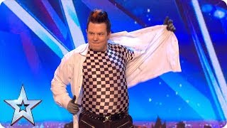 DANGER ALERT! Have you ever seen a man juggle with chainsaws?!   Auditions   BGMT
