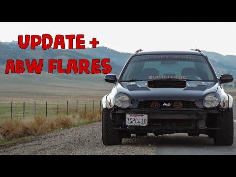 Update + ABW Fender flares are on [2003 Subaru WRX Wagon