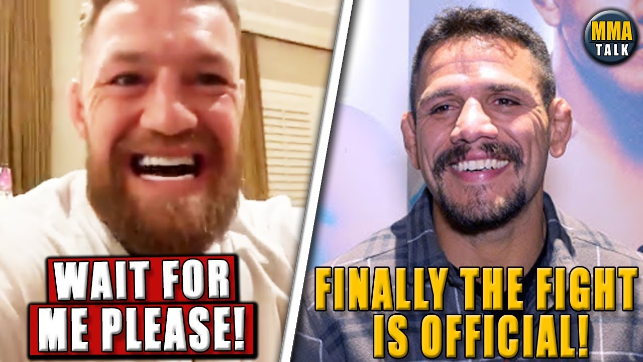 Conor McGregor to RETURN in a WHEELCHAIR boxing match in Oct, Makhachev vs Dos Anjos, Costa-Vettori