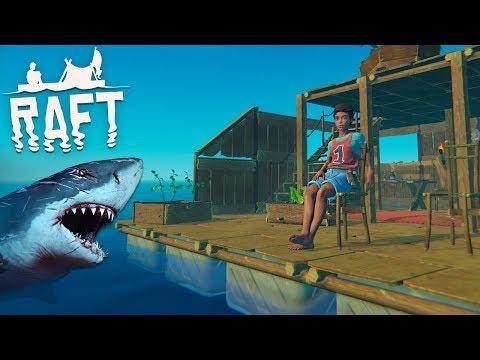 Raft - SURVIVING SHARK ATTACKS