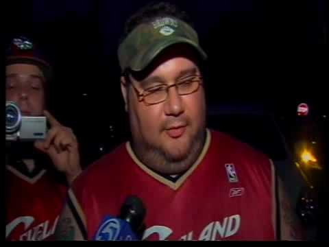 Cleveland: Fans React to LeBron's Decision to Leave the Cavs - July 2010
