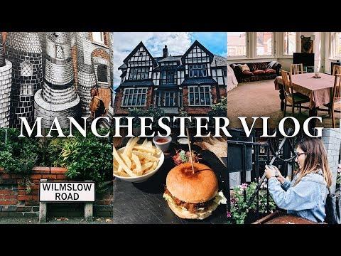 TRAVEL VLOG: UK   Manchester & Didsbury